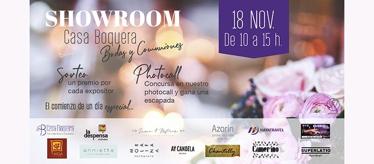 Showroom Bodas y Comuniones Casa Boquera